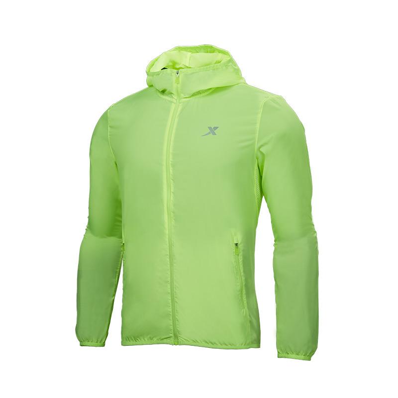 【团购千亿网址多少款】特步 专柜款 2020年单风衣男子休闲时尚跑步运动上衣982129148001